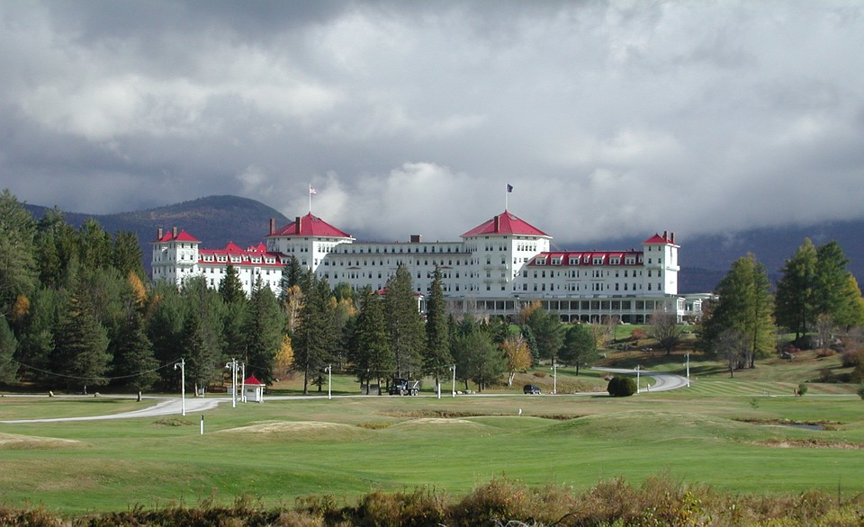 Mount Washington Hotel, Bretton Woods, New Hapshire, Verenigde Staten