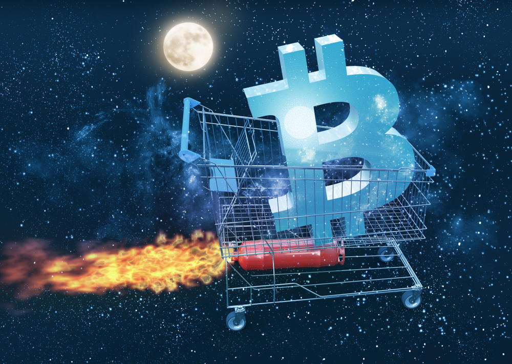 Bitcoin to da moon and beyond......